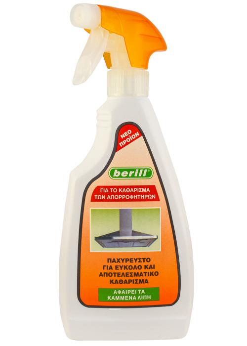 berill Καθαριστικό για απορροφητήρες & λίπη GEL